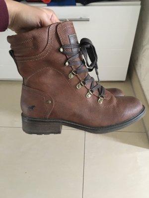 Mustang Short Boots brown
