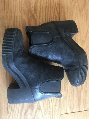 ASH Platform Booties black