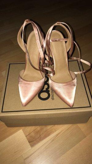 Asos High Heel Sandal rose-gold-coloured