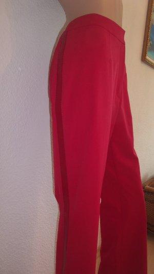 Wunderschöne Stoffhose * Rot * Stretch * Gr. 40 * von Escada