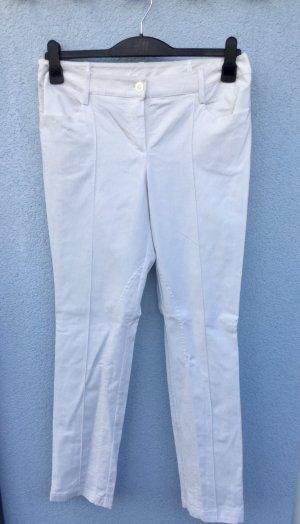 100% Fashion Pantalone elasticizzato bianco