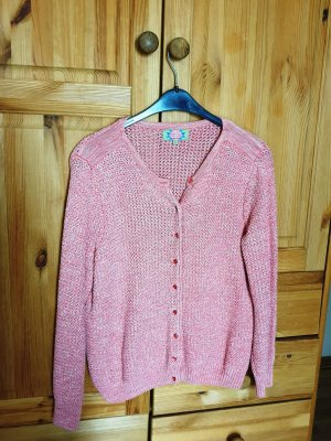Marie Lund Coarse Knitted Jacket salmon