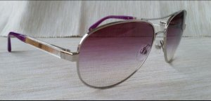 Chanel Butterfly Glasses silver-colored