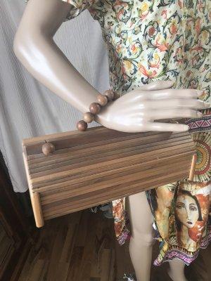Wunderschöne Tasche aus Holz, neu!