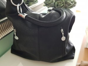 Carry Bag black imitation leather