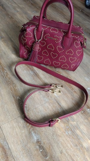 TwinSet Simona Barbieri Carry Bag purple imitation leather