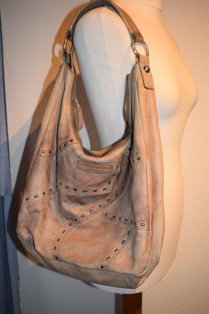 wunderschöne Tasche / Hobobag von Liebeskind in hellem braun mit typischer Patina