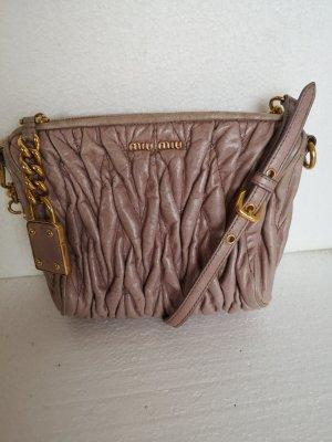 Miu Miu Mini sac or rose-doré