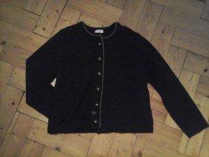 Angermaier Traditional Jacket dark grey-meadow green wool