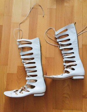 Romeinse sandalen wit