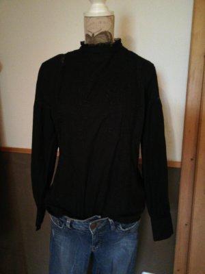 wunderschöne Tunika Bluse Schwarz H&M 42