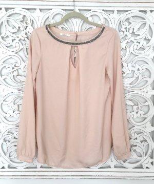 wunderschöne Tunika Bluse von PROMOD * mit Strassbesatz * Gr. 36-38 S