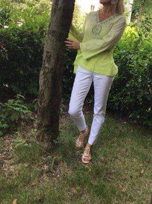 Tuniekblouse grasgroen