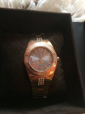 Wunderschöne Uhr in Gold von Esprit