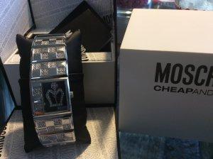 Wunderschöne Uhr von Moschino, Umfang ca. 19 cm