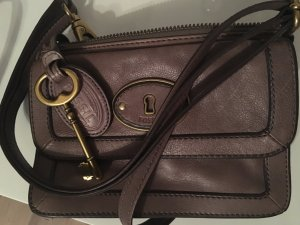 Fossil Crossbody bag gold-colored-grey brown