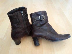 Gabor Botas de tobillo marrón-marrón oscuro