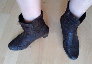 Gabor Ankle Boots brown-dark brown