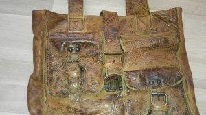 wunderschöne und sehr hochwertige Echtleder Tasche von Landleder