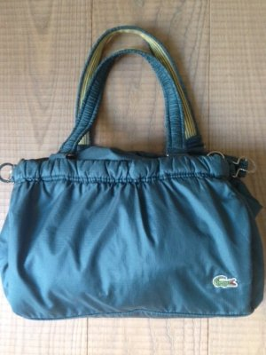 Lacoste Canvas Bag green-grass green nylon