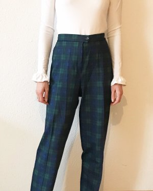 Vintage Pleated Trousers multicolored