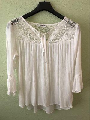 Wunderschöne weiße Bluse
