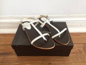 wunderschöne weiße Sandalen von COMMA * Leder  * Gr. 39 * neu und ungetragen!