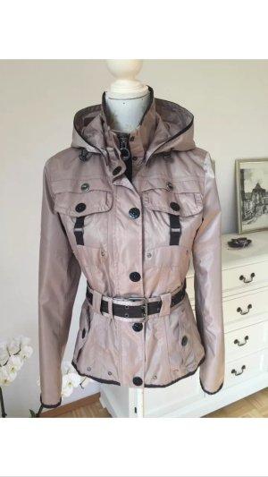 Wunderschöne Wellensteyn Regen Jacke, Wasserabweisend, Gr XS-S Beige, Neuwertig