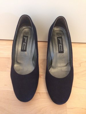 Paul Green Plateauzool pumps veelkleurig Suede