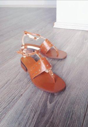 Zara Basic Sandalo toe-post multicolore