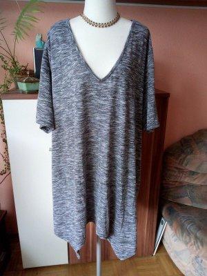Boutique 9 Camisa larga negro-color plata