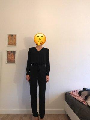 AllSaints Jumpsuit zwart Polyester