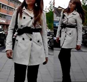 Wunderschöner beiger Parka/ längere Jacke/ Trenchcoat Gr. M von Only