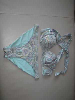 H&M Bikini azul acero