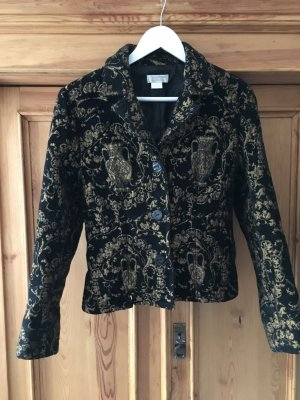 Vintage Stories Short Blazer black-gold-colored
