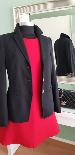 Basler Unisex Blazer black mixture fibre