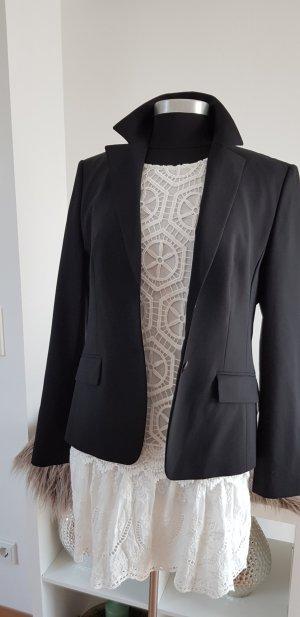 Hugo Boss Blazer unisex negro lana de esquila