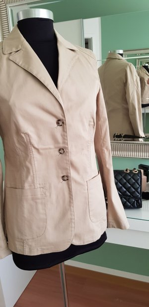 Prada Unisex Blazer light brown cotton