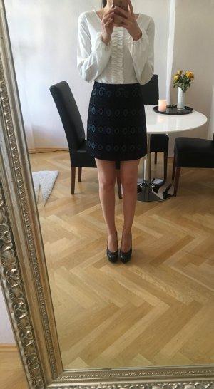 Zara Jupe taille haute multicolore
