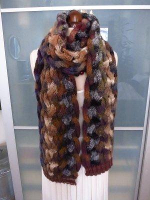 Wunderschöner bunter Strickschal von Sisley