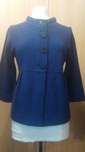 Wunderschöner Damen Woll Jacke niedlicher Blazer von Taifun Gr. 40 in Lila TOP