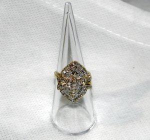 Wunderschöner Diamant-Ring 585/-Gelbgold