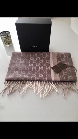 Wunderschöner dicker Luxus Kaschmir Woll Schal Gucci Letzter Preis