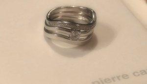 """Wunderschöner dreiteiliger """"Trinity"""" Ring von Pierre Cardin - 925 Sterling Silber"""