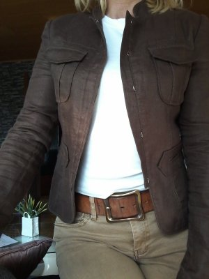 DAY Birger et Mikkelsen Blazer unisexe brun lin