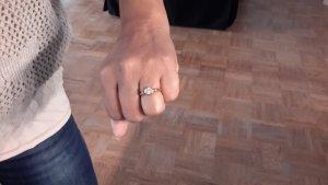 wunderschöner golderner Ring