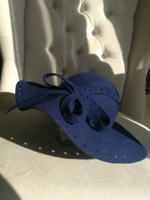 Cappello di lana blu scuro
