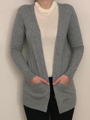 Wunderschöner Kaschmir Cardigan grau