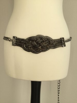 Chain Belt silver-colored metal