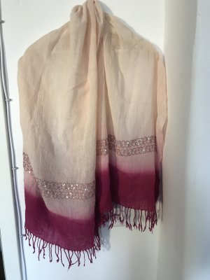 Wunderschöner, leichter Schal bzw. Sommer Schal mit Pailetten von ZARA